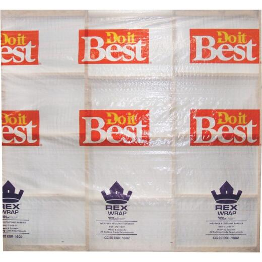 Do it Best REX Wrap 9 Ft. x 150 Ft. House Wrap