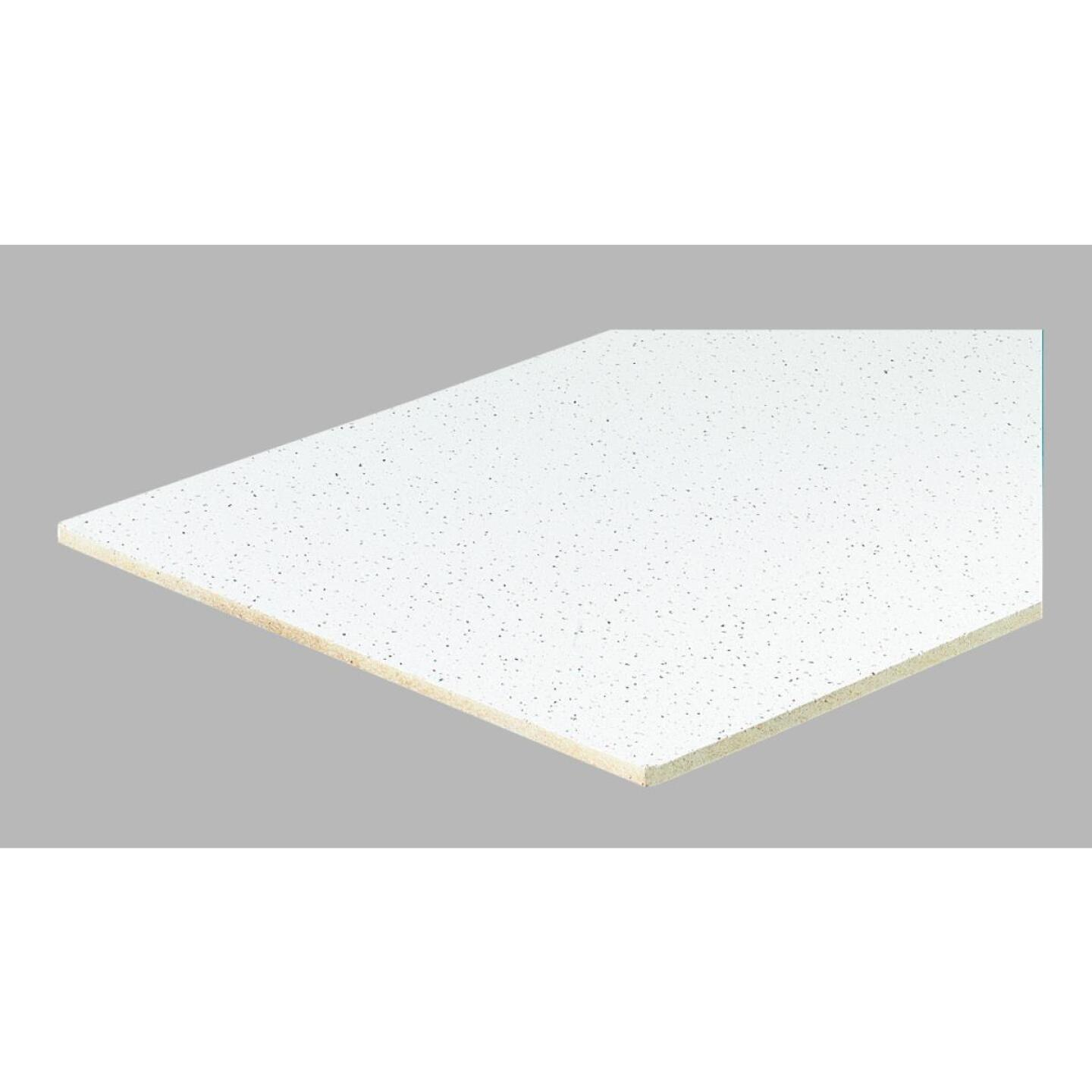 Radar Fissured 2 Ft. x 4 Ft. White Mineral Fiber Square Edge Suspended Ceiling Tile (8-Count) Image 2