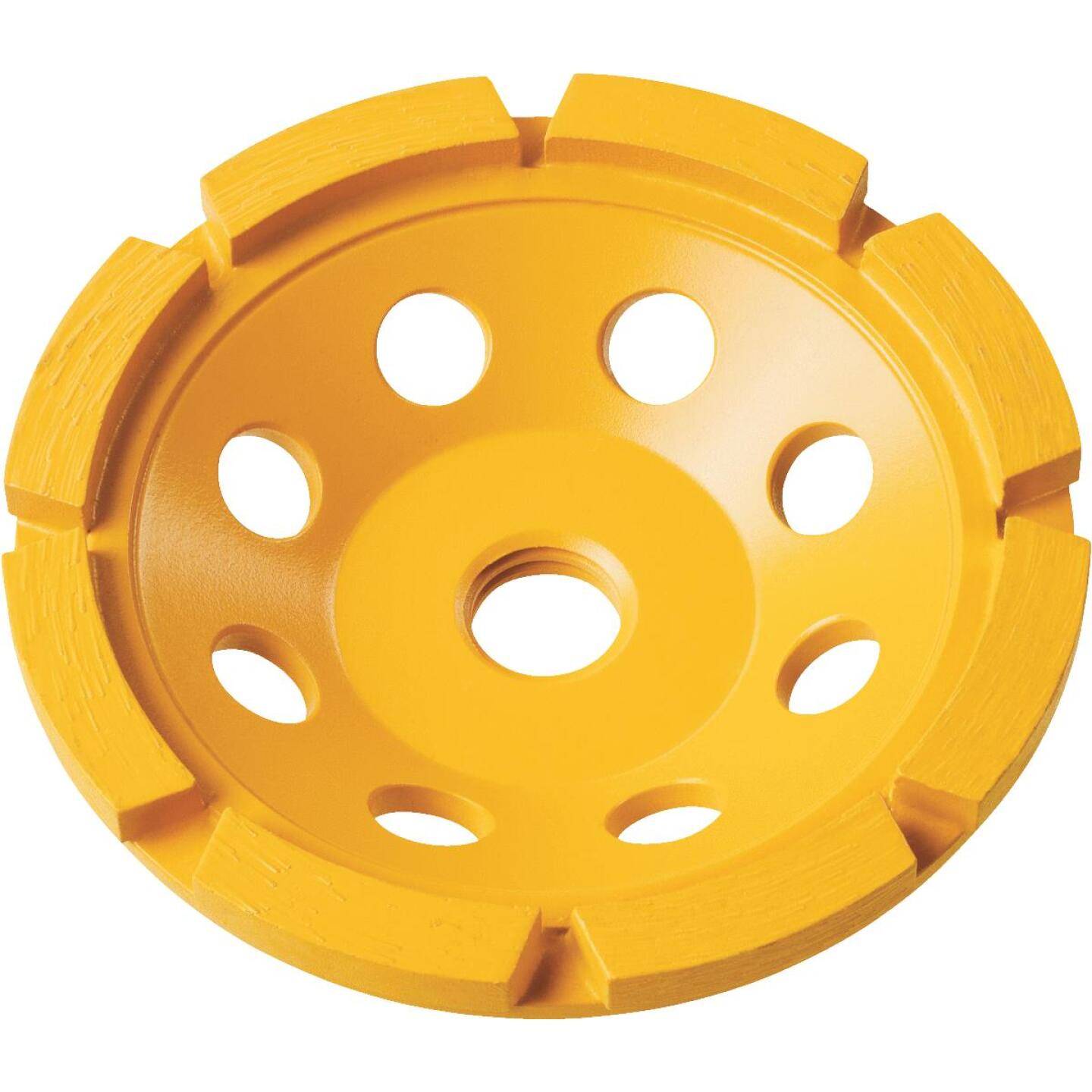 DeWalt 4 In. Segmented Single Row Cup Wheel Image 1
