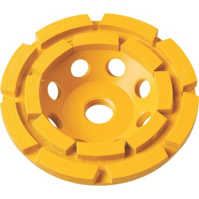 DeWalt 4 In. Segmented Double Row Cup Wheel