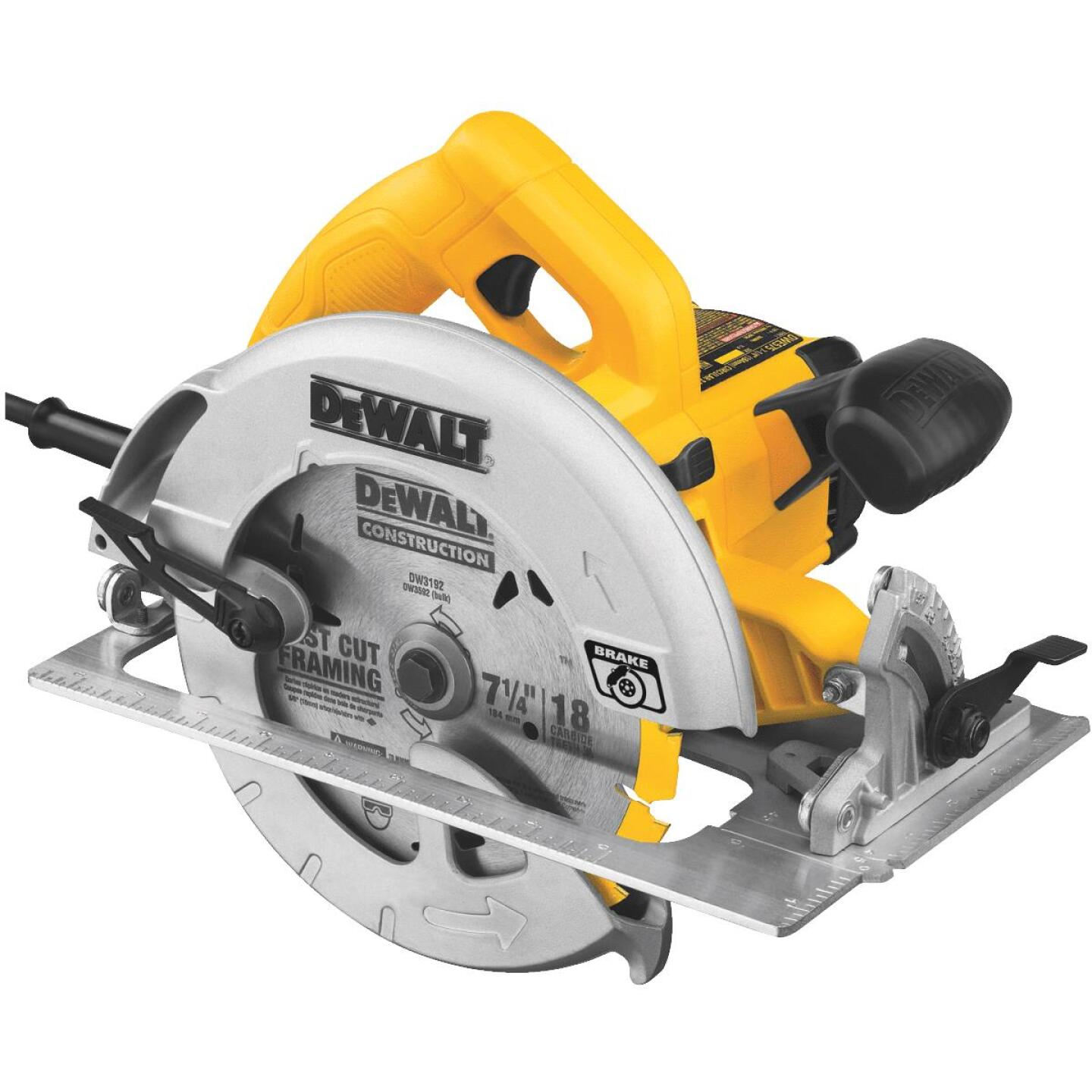 DeWalt 7-1/4 In. 15-Amp Lightweight Circular Saw Image 1