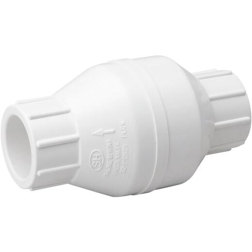 ProLine 1 In. PVC Schedule 40 Spring Loaded Check Valve
