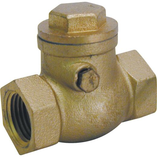 ProLine 1 In. Brass Swing Check Valve