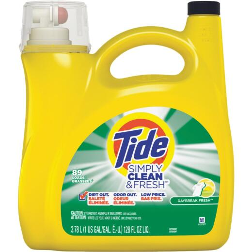 Tide Simply Clean & Fresh 128 Oz. 89 Load High Efficiency Liquid Laundry Detergent