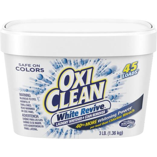 OxiClean White Revive 3 Lb. Laundry Whitener and Stain Remover