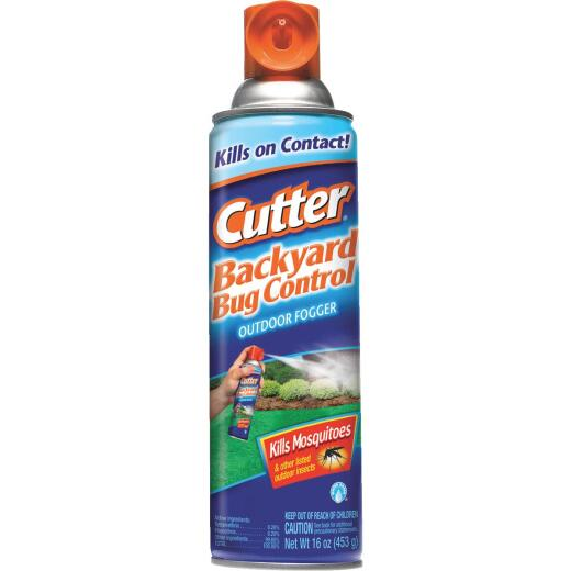 Cutter 16 Oz. Backyard Bug Control Outdoor Fogger