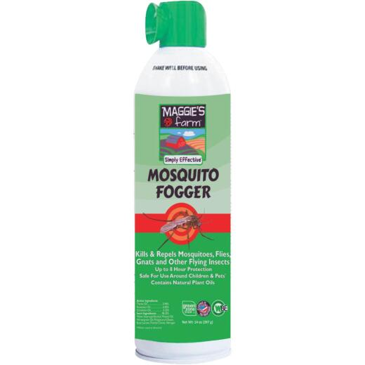 Maggie's Farm 14 Oz. Natural Outdoor Mosquito Fogger