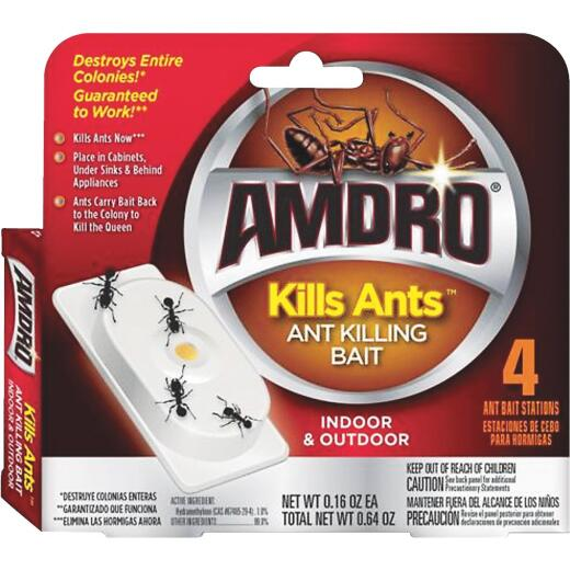 Amdro 0.64 Oz. Solid Ant Bait Station (4-Pack)