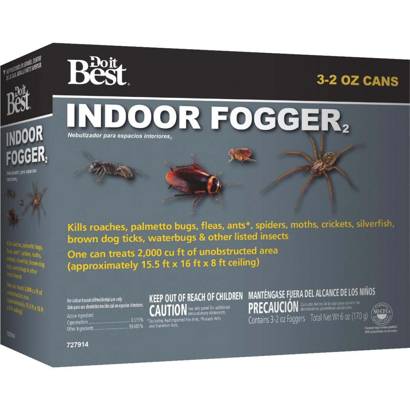 Do it Best 2 Oz. Indoor Insect Fogger (3-Pack) Image 1