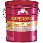 Duckback SUPERDECK VOC Transparent Exterior Stain, Cedar Tone Natural, 5 Gal. Image 1