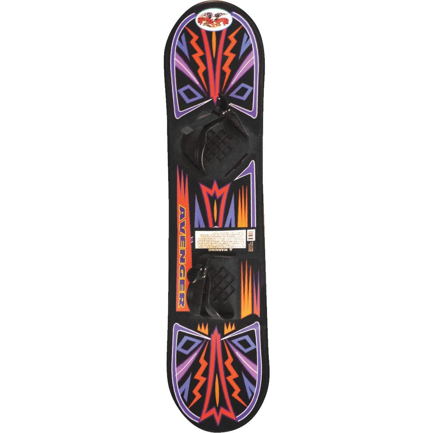 Flexible Flyer Avenger 37 In. Plastic Snowboard Image 1